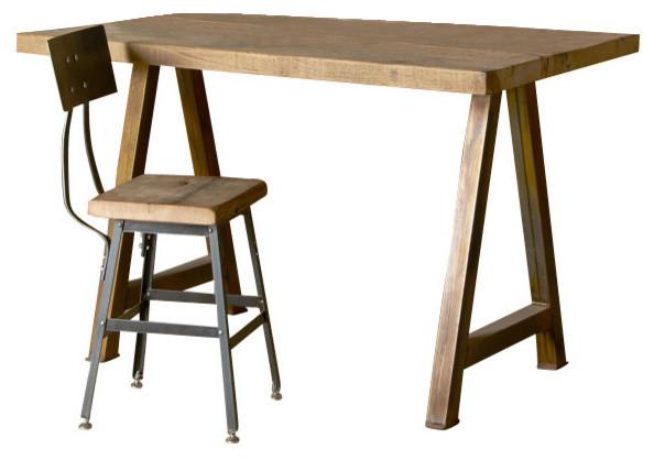 Architect Desk rustic modern architect desk - desks and hutches -urban wood goods