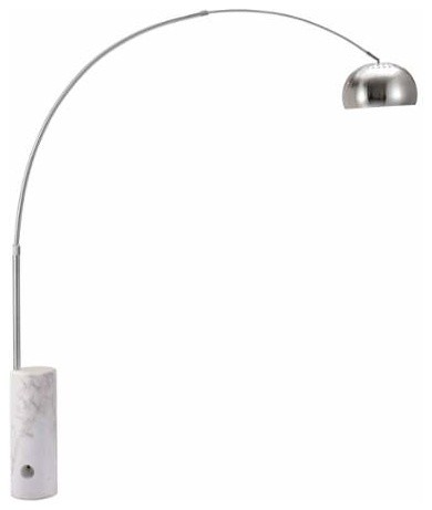 Zuo Modern Trion Floor Lamp, Satin, 50037.