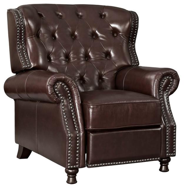 Amazing Cognac Recliner Short Links Chair Design For Home Short Linksinfo