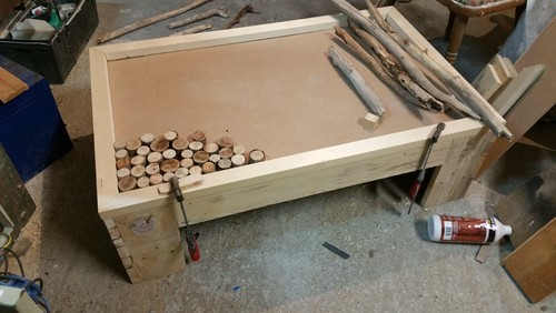 Fabrication table basse maison - Construire une table de chevet ...