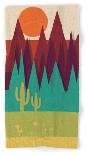 Society6 arizona towel southwestern bath towels by for Southwestern towel bars