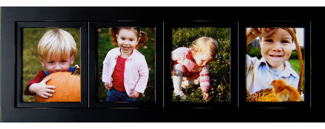 Collage Picture Frames 8x10 Wood Frame With 4 Openings ...