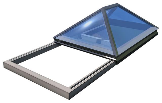 Slide Open Lantern Rooflight Contemporary Skylights