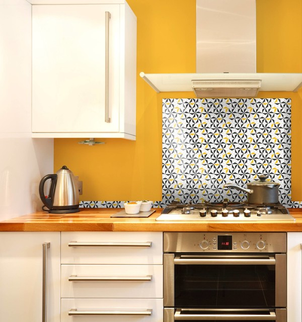 Crédence Origami Style - Skandinavisch - Küche - Sonstige ...