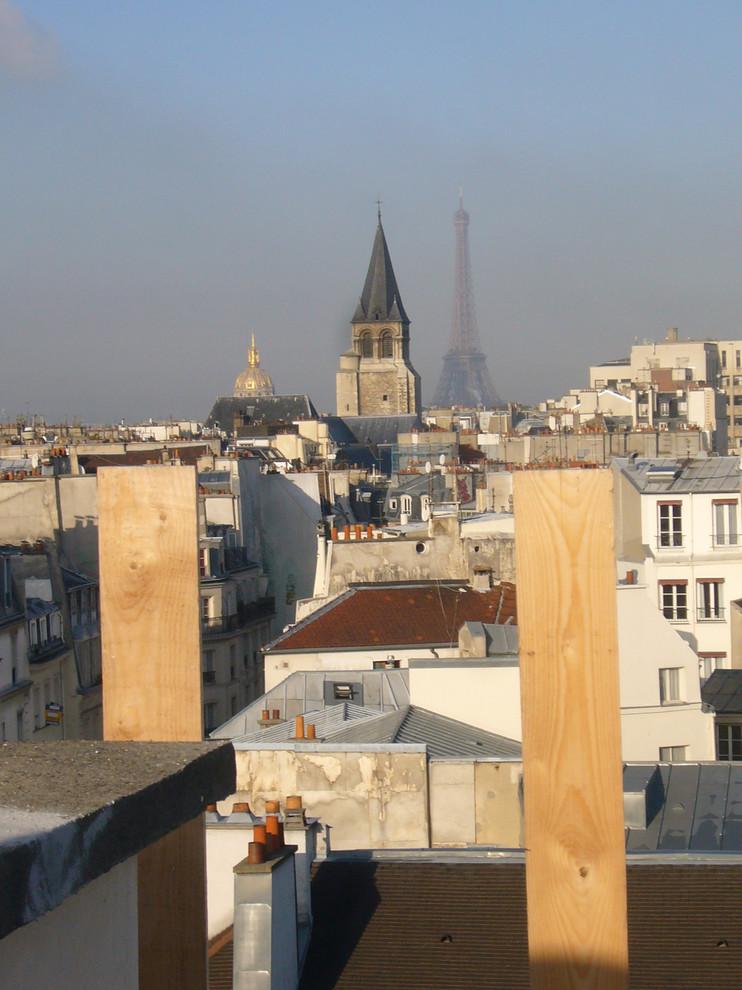 Restauration d'un immeuble MH - rue Saint-André des Arts