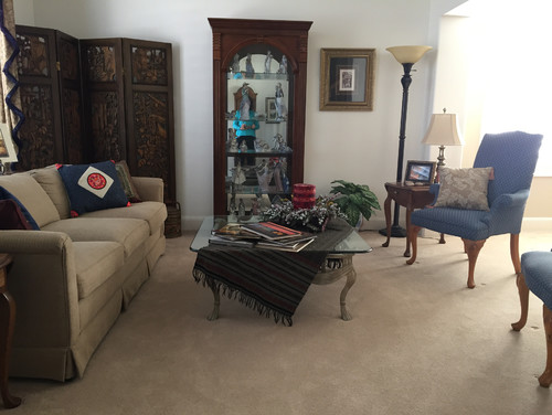 need help with my living dining room