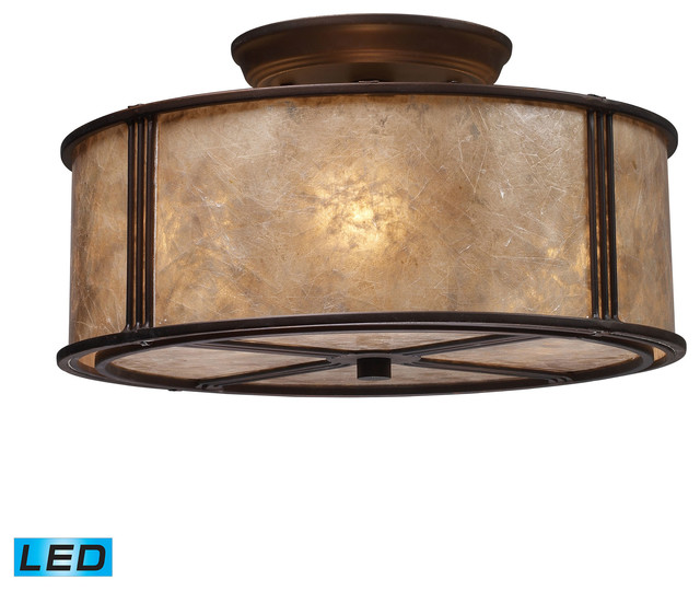 Barringer Semi Flush.