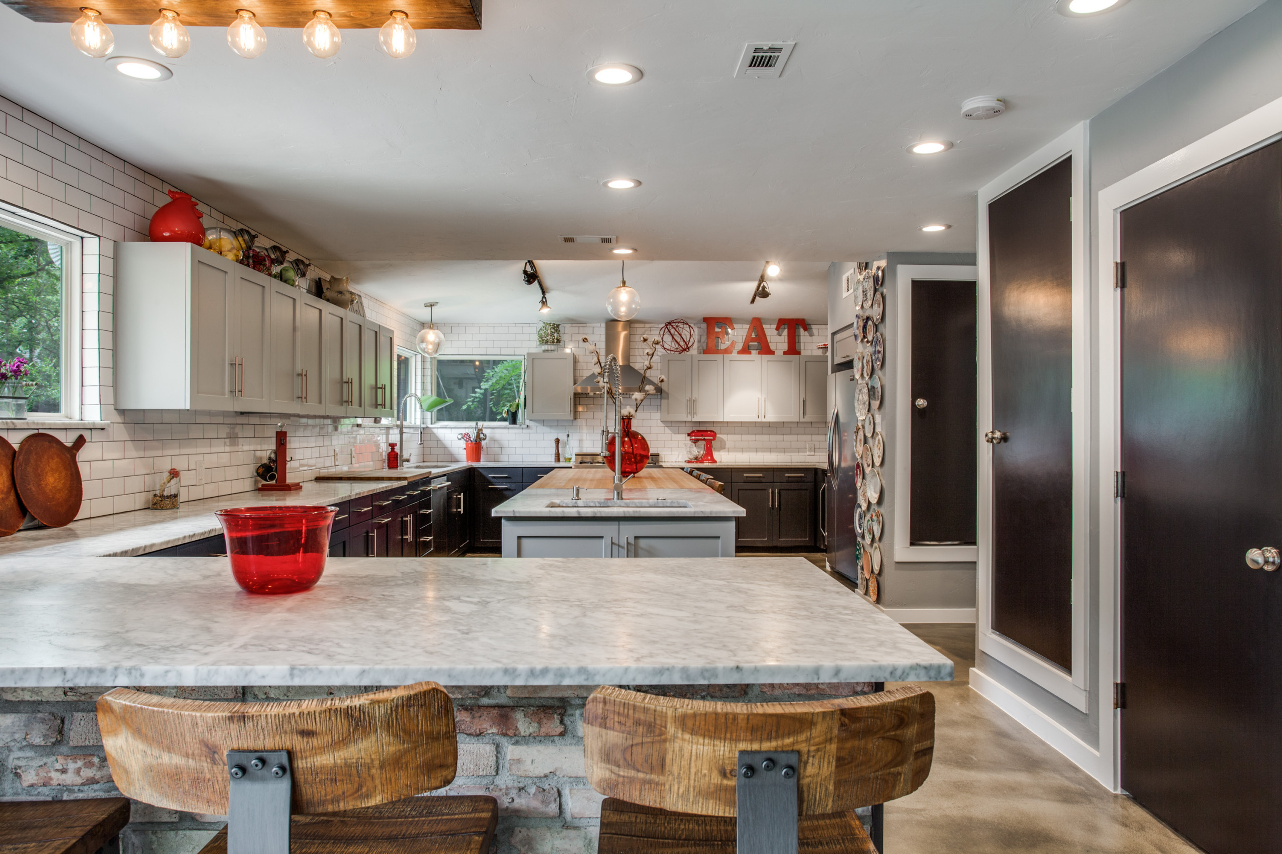 Reclaimed Eclectic Kitchen