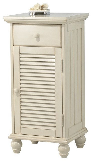 Foremost ctaf1735d cottage floor cabinet in antique white - Small floor cabinet for bathroom ...