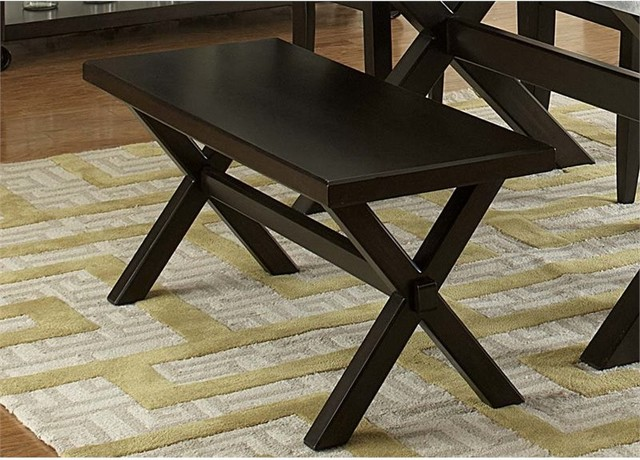 Liberty Furniture Keaton Ii Dining Bench, Charcoal.