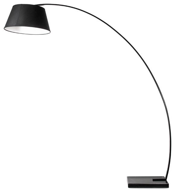 Rachel Floor Lamp, Black.
