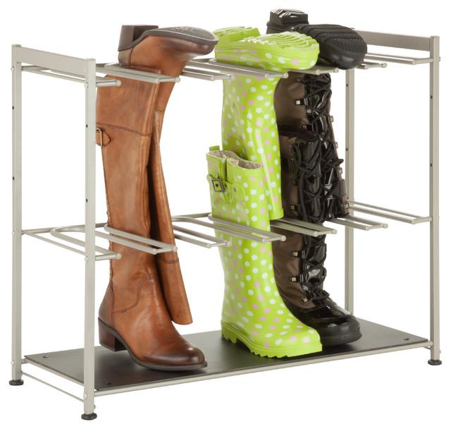 6-Pair Boot Rack.