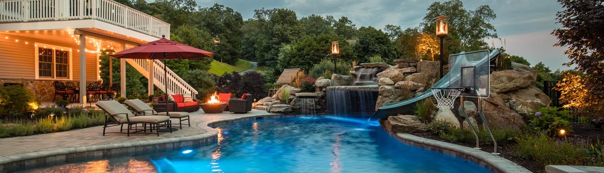 Minimalist Design Pool Spa With Cumaru Wood Deck Unique Infinity Pool Backyard Minimalist