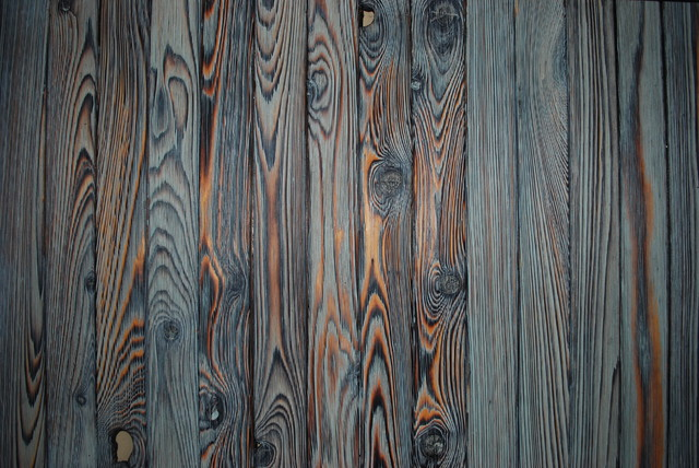 Shou Sugi Ban Burnt Wood Siding