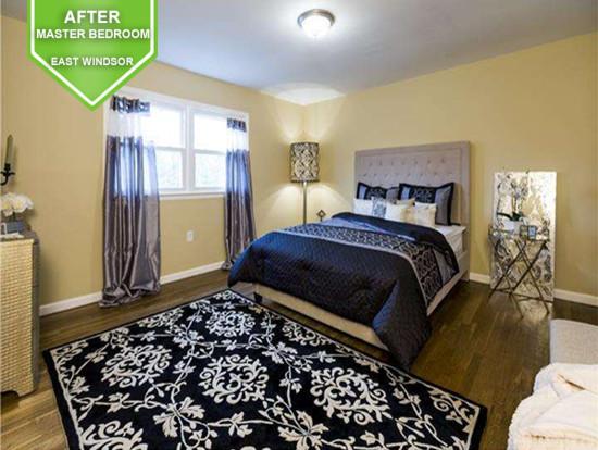 East Windsor After Master Bedroom