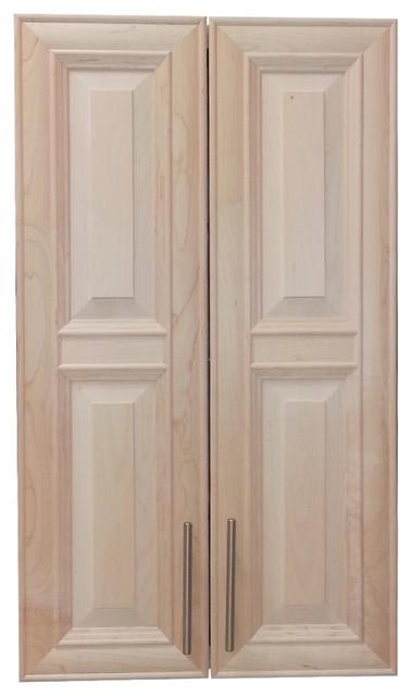 "Edison 38"" 2-Door Recessed Frameless Medicine Cabinet, 3.5"" - Traditional - Medicine Cabinets ..."