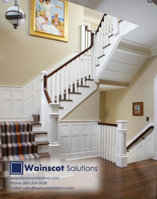 Stairway Designs By Wainscot Solutions Mediterranean Staircase