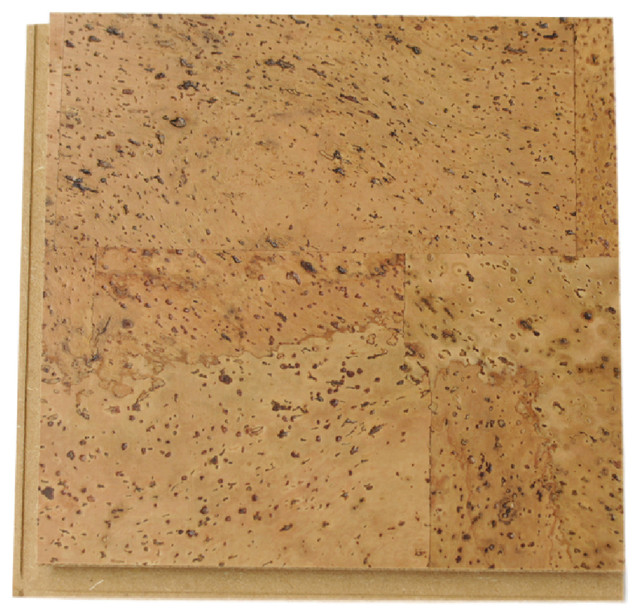 Eco Friendly Cork Floors Thick Portugal Made Sample
