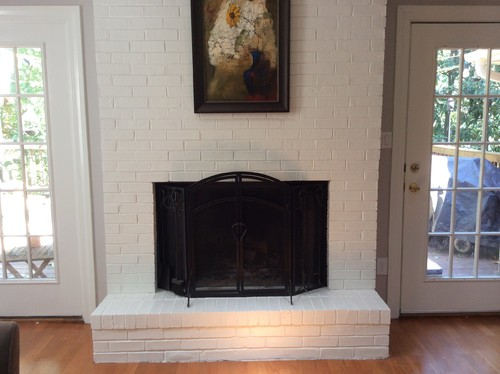 Fireplace redesign recommendation...