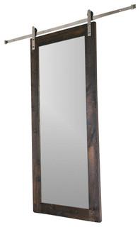 Modern mirror barn door modern interior doors by artisan hardware planetlyrics Image collections