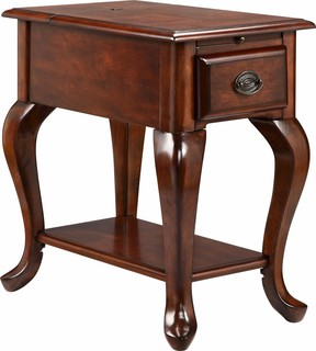 Shenandoah 2- 2.1 Amp USB Ports Accent Table, 13190 - Traditional ...