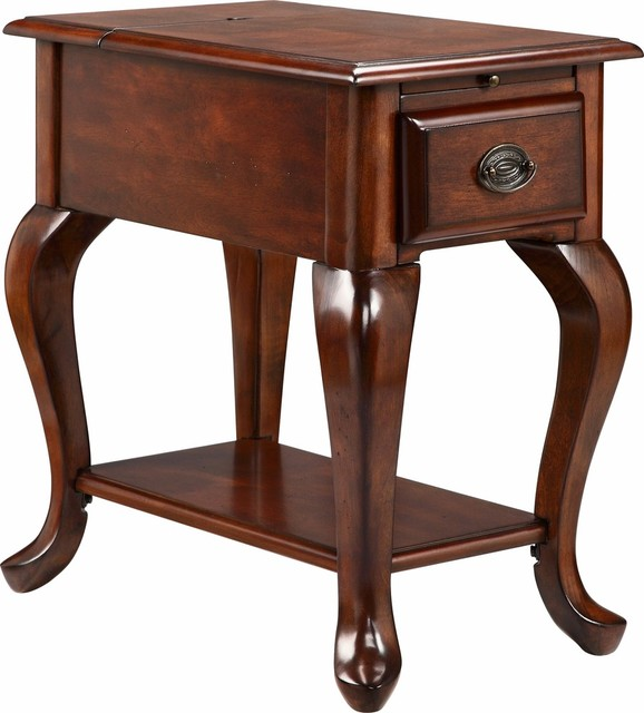 Stein World Shenandoah 2 21 Amp USB Ports Accent Table