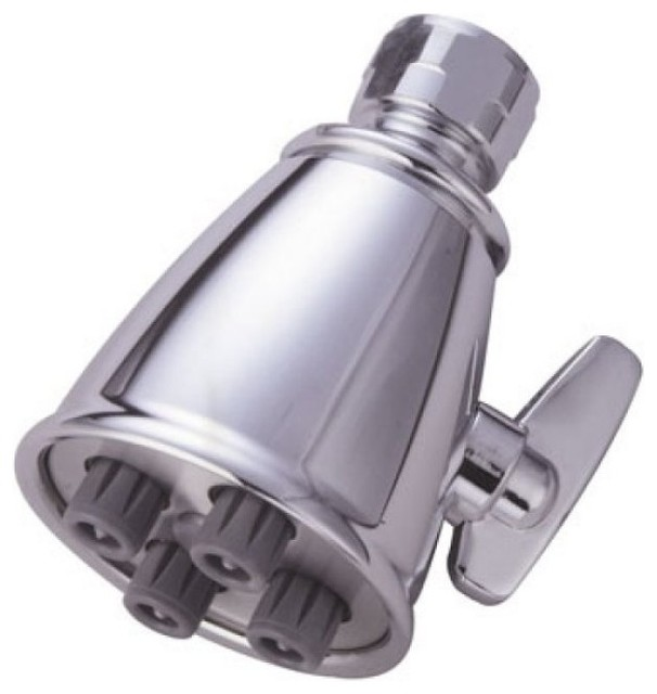 Fire Hydrant Spa Symphony 4 Jet Shower Head For Low Water Pressure, Oil  Rubbed B