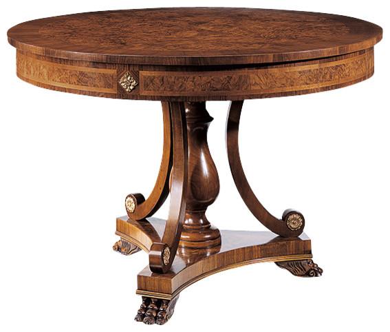 Biedermeier Center Table Traditional Coffee Tables