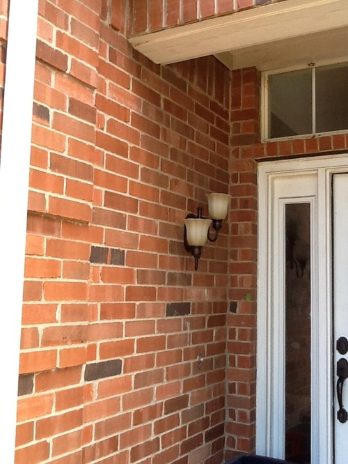 Help With Choosing A Front Door And Trim Colors For My Red Brick House