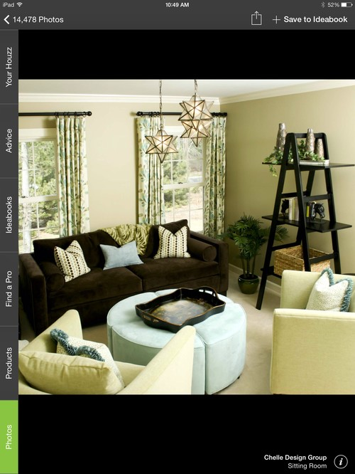What Wall Curtain Colors To Go With Orange Rug