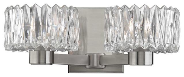 Hudson Valley Anson 2-LT Bath Light Bracket 2172-SN - Satin Nickel