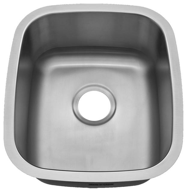 Century Verdura, 18 Gauge Stainless Steel Bar Or Utility Sink, ...
