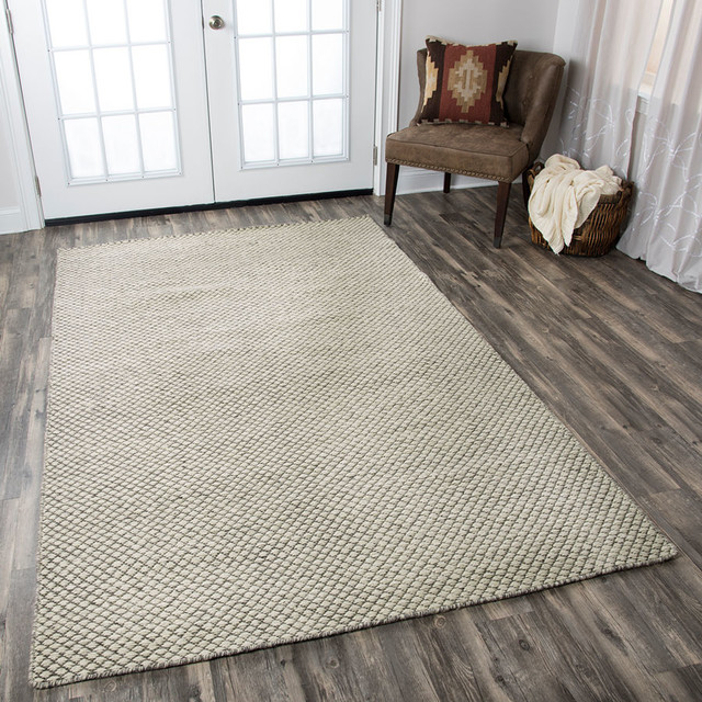 Rizzy Twist Tw 3101 Solid Color Rug