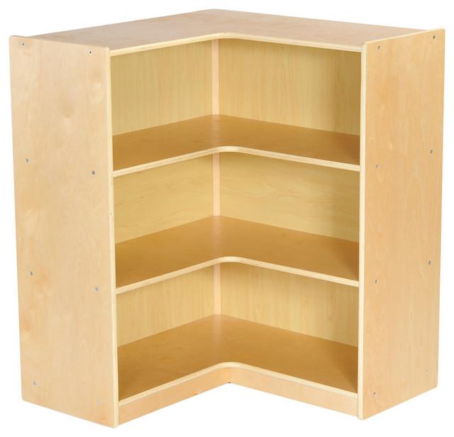 ECR4 Kids - Birch Corner Storage Unit, Natural - View in Your Room! | Houzz