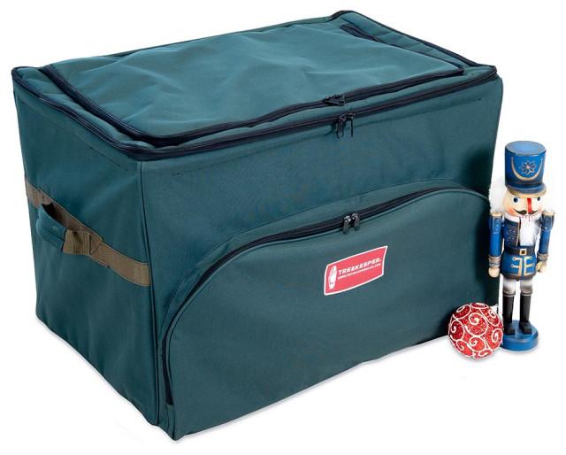 Top Pocket Ornament Storage Bag