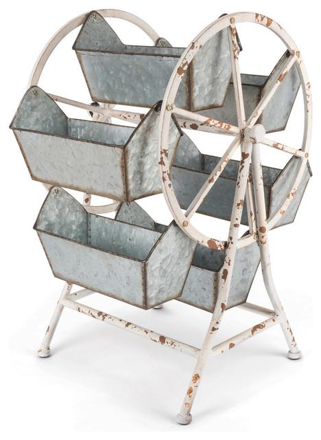 Metal Ferris Wheel Organizer.