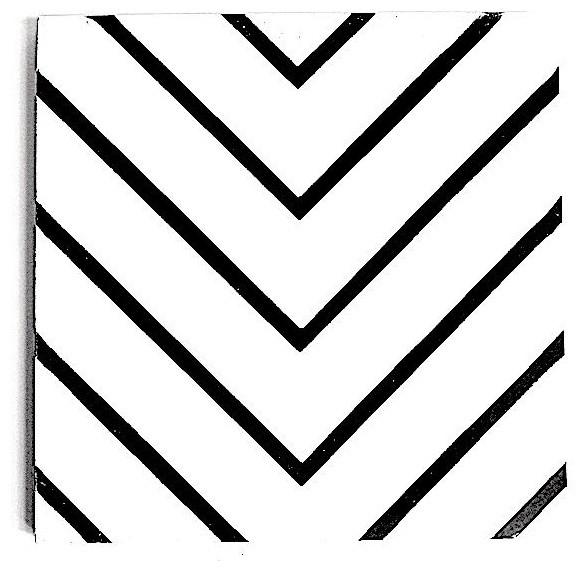 """8""""x8"""" Maze Cement Tile"""