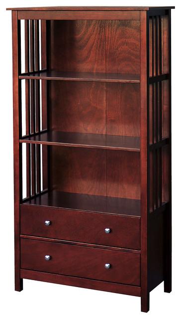 Dorman 2-Drawer Bookcase.