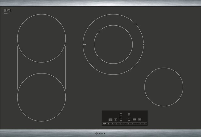 Bosch 30 Electric Cooktop With 4 Cooktop Elements And 17 Cooking Level Settings.