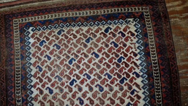 Consigned Hand Made Afghan Baluch Rug 3 8 X5 6 116cmx170cm 1880 Area Rugs By Oleg Maslov Houzz
