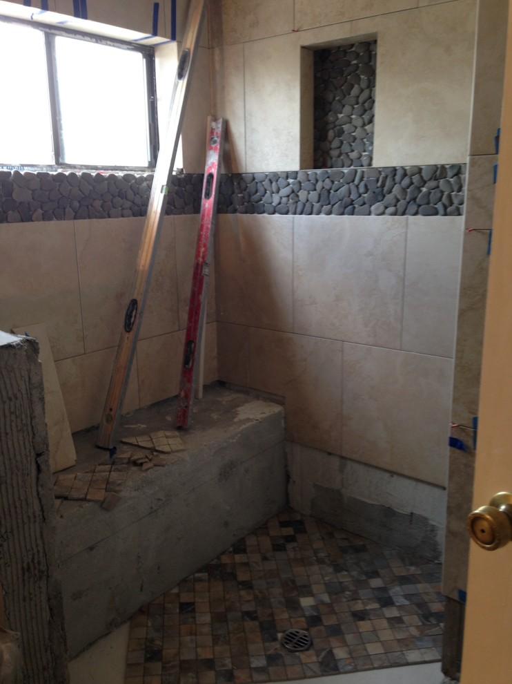 Shower tile, flooring tile & accent