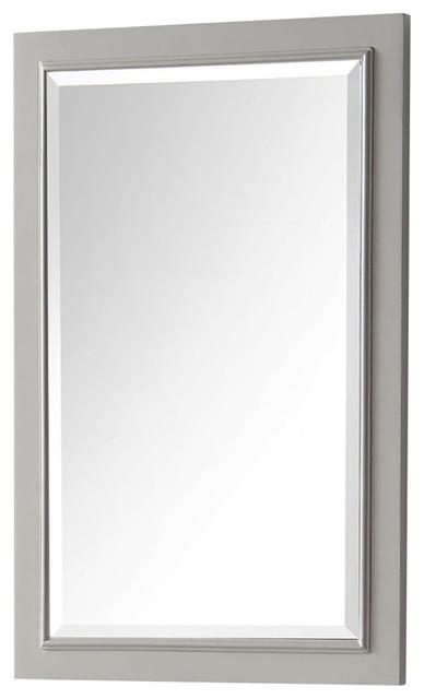 Legion Furniture 20x30 Vanity Mirror, Warm Gray.