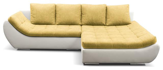 HUGO Sectional Sleeper Sofa, Right Corner