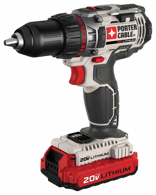 Porter Cable 20v Max 1/2 Lithium Ion Drill/driver Kit.