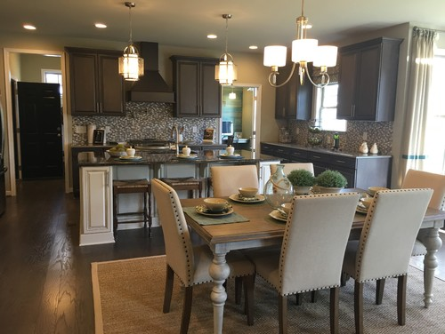 Lighting For An Open Concept Eat In Kitchen