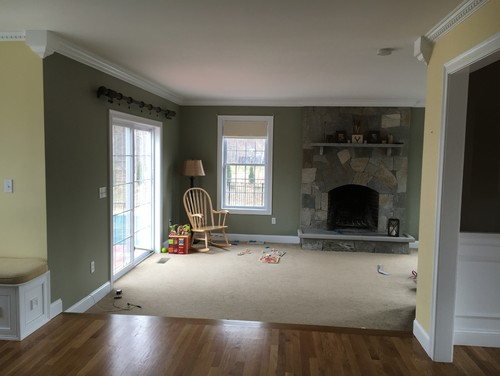 Help With Transition From Kitchen To Family Room