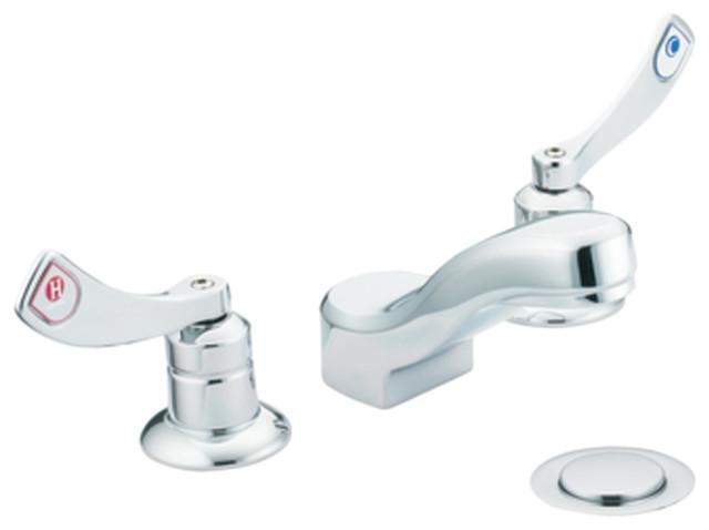 Moen M-Dura Chrome 2-Handle Lavatory Faucet.