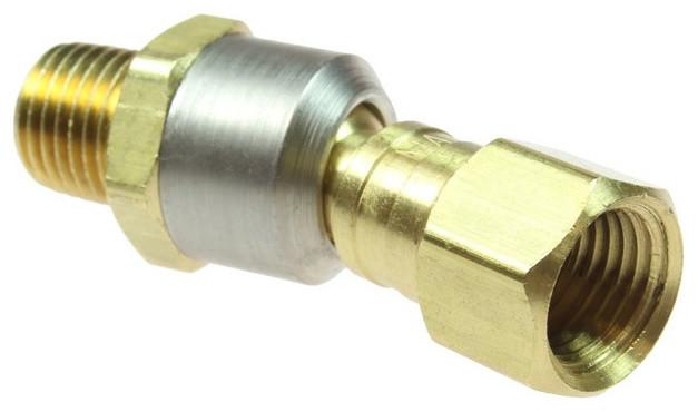 Flexeel conversion ball swivel for air hose