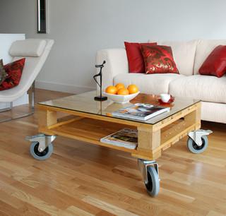 Elegant Reclaimed Pallet Table Set