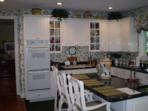Homey Kitchen beautiful before & after of a homey kitchen!